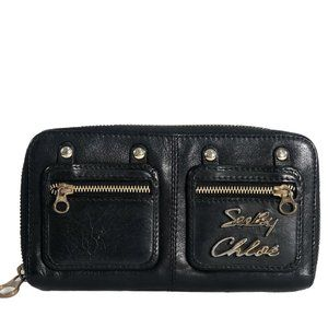 See by Chloe Leather Continental Wallet